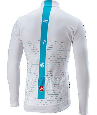 2018 Team Sky LONG SLEEVE THERMAL サイクルジャージ