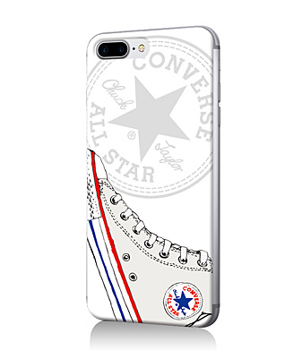 【iPhone8Plus/iPhone7Plus専用Gizmobies(ギズモビーズ)】CONVERSE(コンバース)/Sneaker LOGO WH