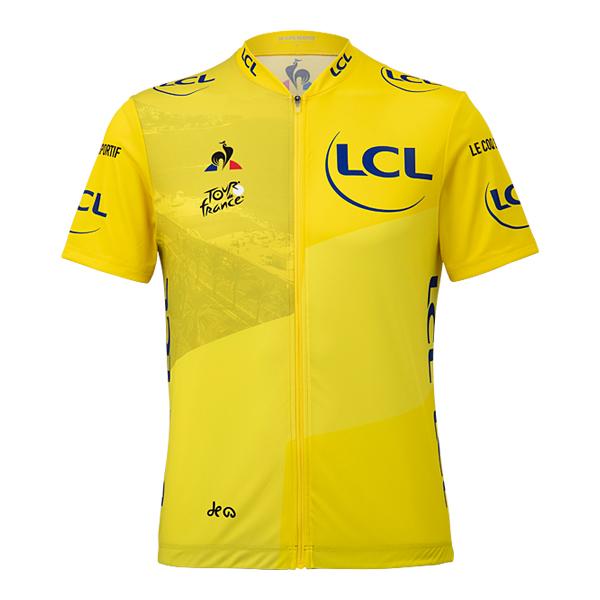 le coq sportif ツール・ド・フランス2020 サイクルジャージ マイヨ・ジョーヌ グランデパール