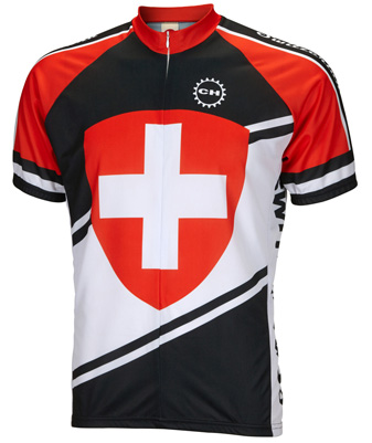 World Jersey Switzerland サイクルジャージ