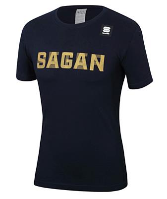 """Sportful 2019 SAGAN Tシャツ """"PETER SAGAN"""" ネイビー"""