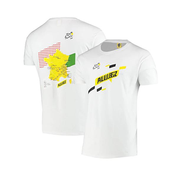 ツール・ド・フランス 2020オフィシャル コースマップTシャツ