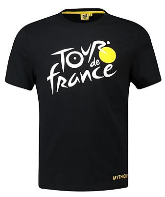 ツール・ド・フランス2019オフィシャルロゴTシャツ ブラック