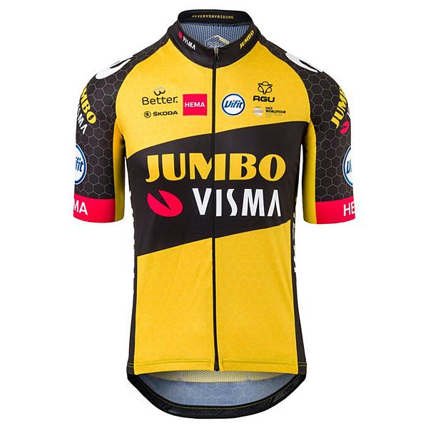 Team Jumbo-Visma レプリカサイクルジャージ