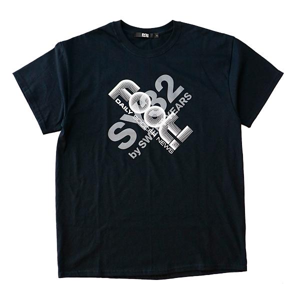 Foot! × SY32 20周年記念 Tシャツ ブラック