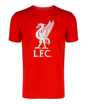 リバプールオフィシャル グラフィックTシャツ レッド
