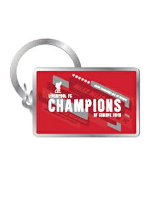 リバプールオフィシャル Champions of Europe キーリング