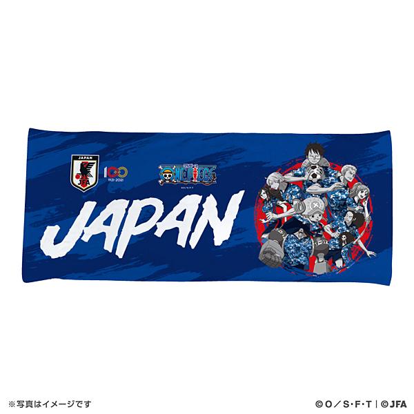 ONE PIECE ハイブリッドフェイスタオル サッカー日本代表Ver.