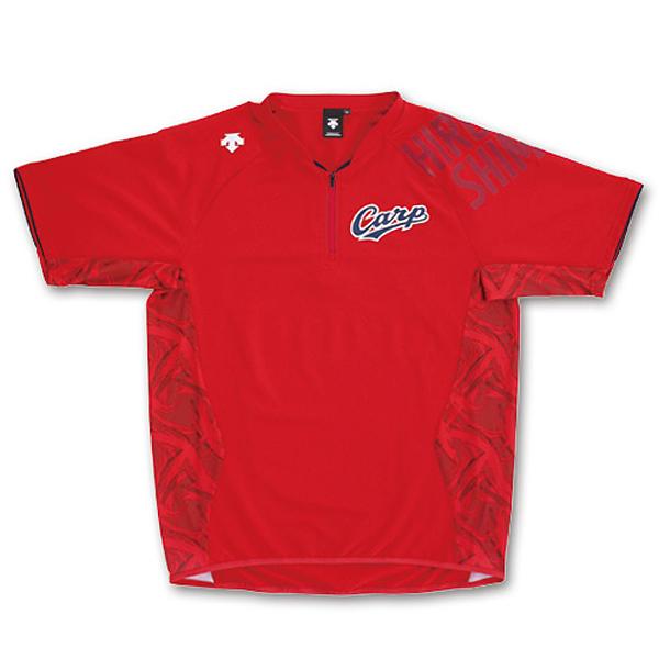 広島東洋カープ×デサント 半袖ハイブリッドシャツ