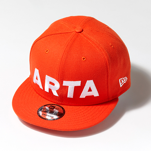 ARTA NEWERA 950 キャップ オレンジ×ブラック