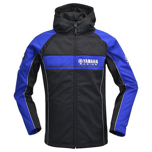 ヤマハレーシング YRE18YRウィンドブロックパーカー ブルー×ブラック