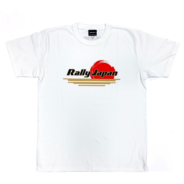 Rally Japan OFFICIAL PRODUCT Tシャツ(スタンダード)