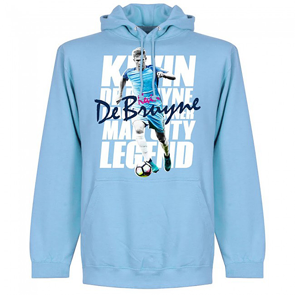 RE-TAKE DeBruyne Legend フーディー スカイ