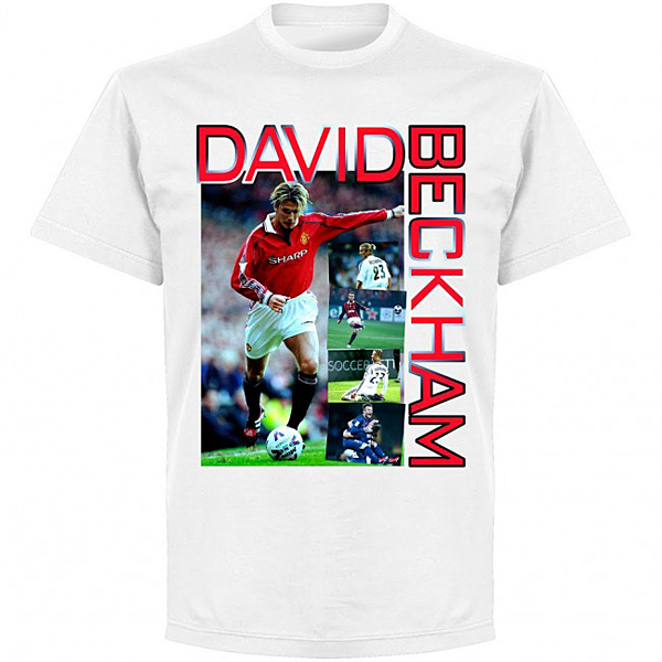 RE-TAKE Beckham Old Skool Tシャツ ホワイト