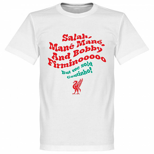 RE-TAKE Salah Mane Mane Tシャツ ホワイト