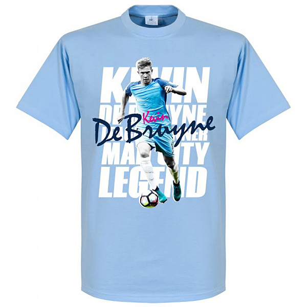 RE-TAKE Kevin De Bruyne Legend Tシャツ スカイ