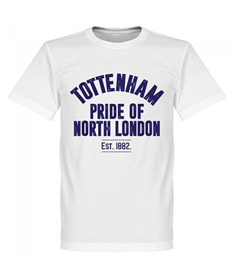 RE-TAKE Tottenham Established Tシャツ ホワイト