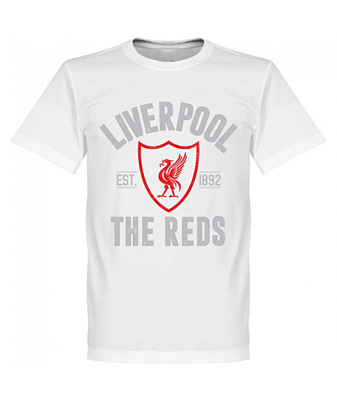 RE-TAKE Liverpool Established Tシャツ ホワイト