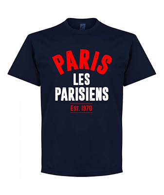 RE-TAKE Paris Established Tシャツ ネイビー