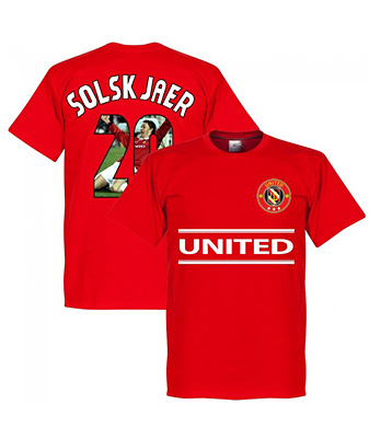 RE-TAKE United Solskjaer 20 Gallery Team Tシャツ レッド