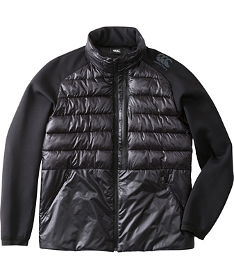 カンタベリー QUEENS INSULATION JACKET (Men's) ブラック RP78543